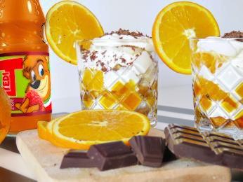 Desert cu portocale si piscoturi