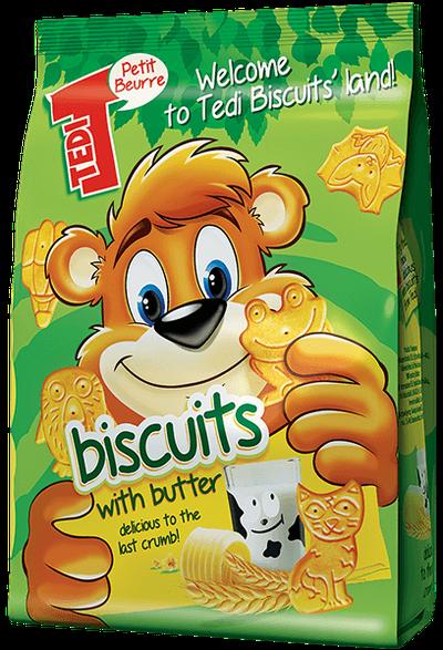 Biscuiti Tedi